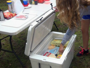 Max Cooler Companion trays maximize your cooler storage while camping.